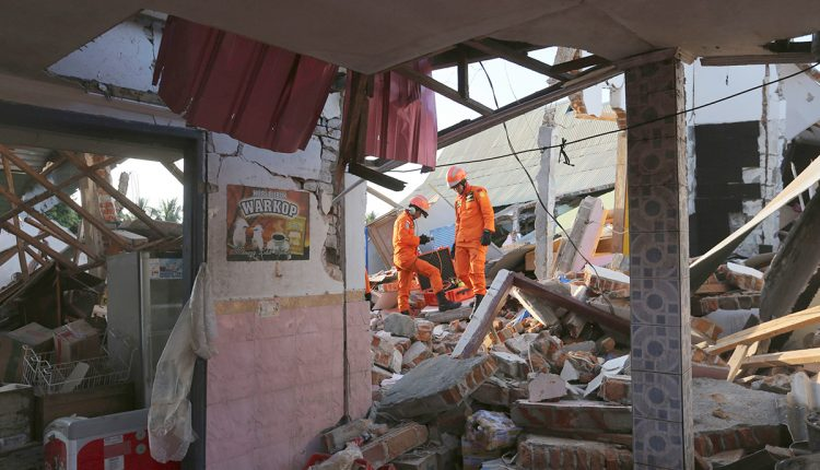 More than 90 people killed in massive earthquake on island of Lombok | Innovation
