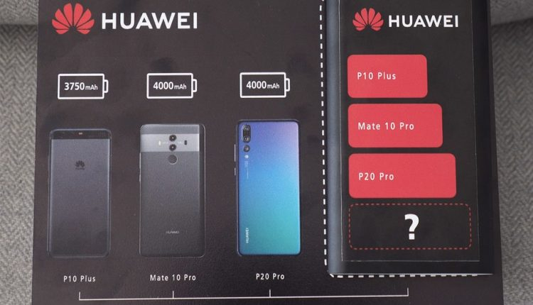 Huawei confirms Mate 20 Pro will have series' biggest battery yet | Apps News