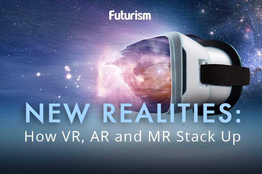 VR, AR, And MR: What's The Difference? [INFOGRAPHIC]