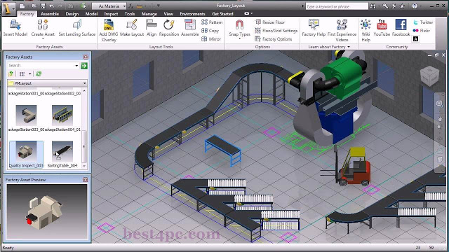 Autodesk Factory Design Utilities 2018 Free Download | Viral