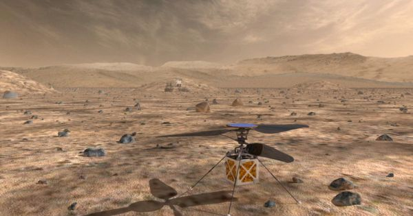 NASA just built a tiny helicopter that will fly over Mars' surface | Robotics