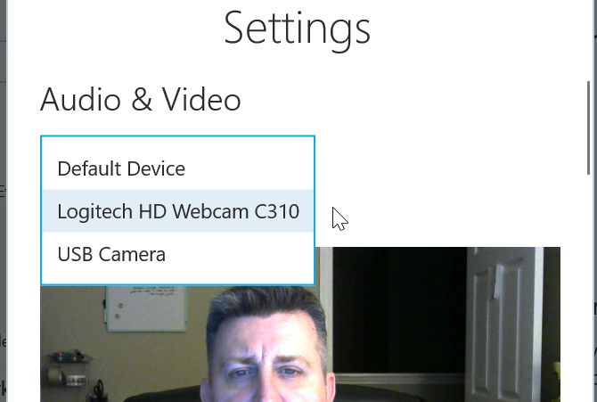 Skype Video Not Working? How to Test and Troubleshoot Your Camera check camera 1