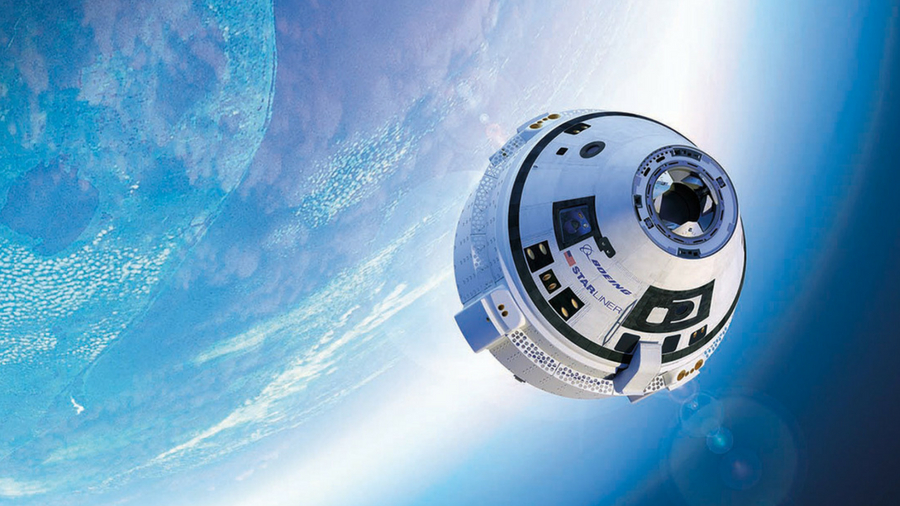 Image of Boeing's Starliner spacecraft