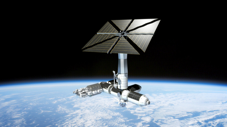 Artist's concept of Axiom Station