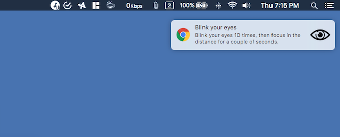 Healthy Browsing Google Chrome Extension