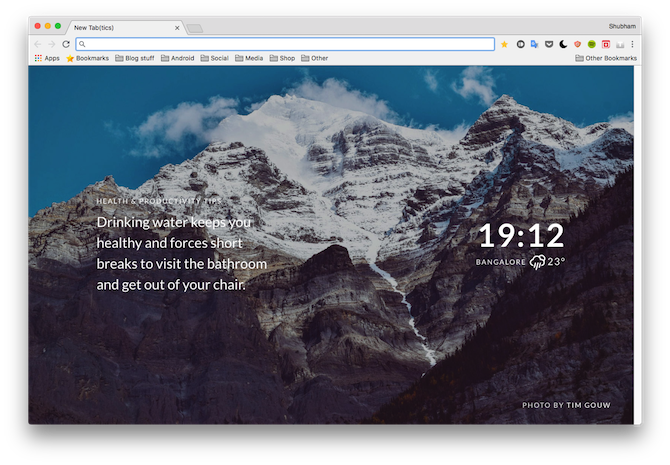 11 Chrome Extensions That Help You Stay Healthy at a Desk Job tabtics chrome extension