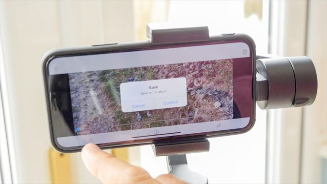 Yi Smartphone Gimbal: Silky Smooth Footage, But Could Be Better yi gimbal app save individual videos 670x377
