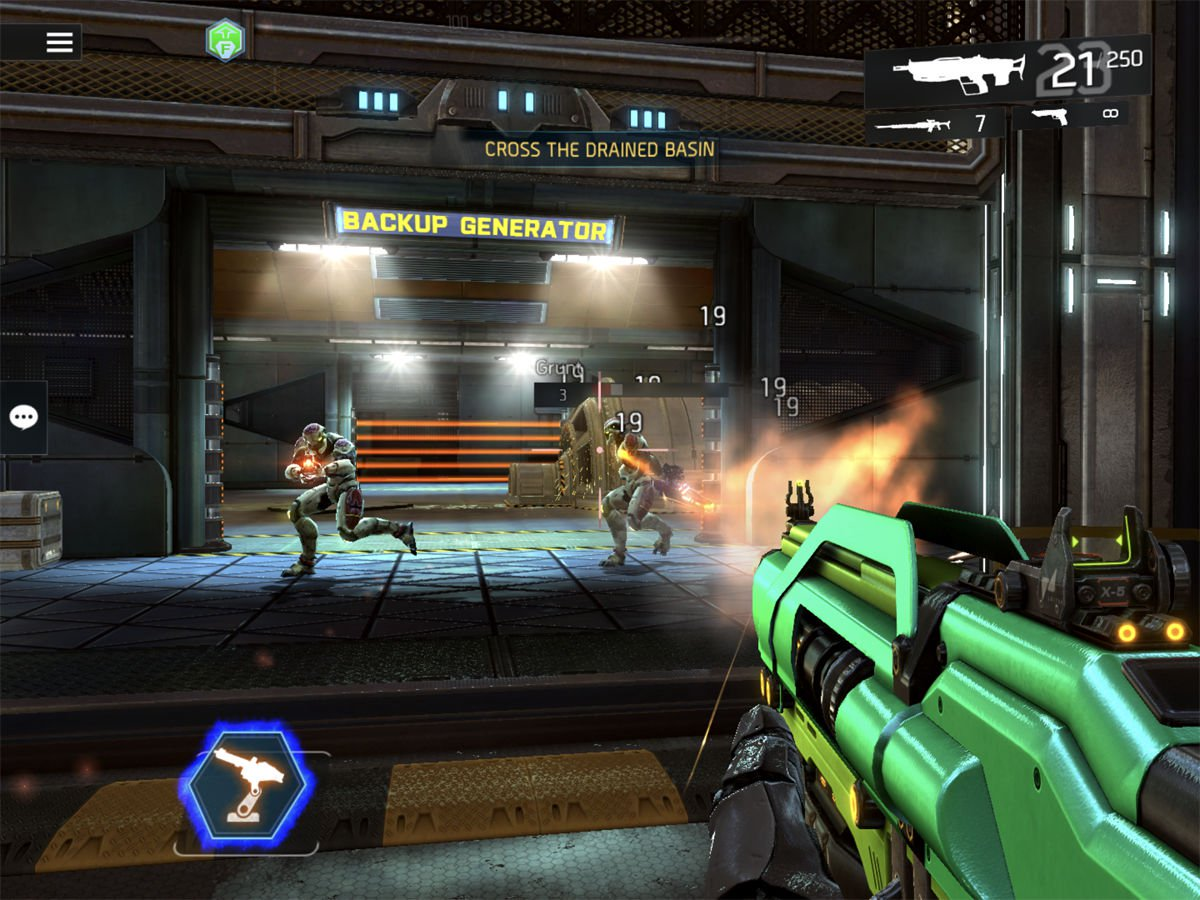 Best free iPad games: Shadowgun Legends