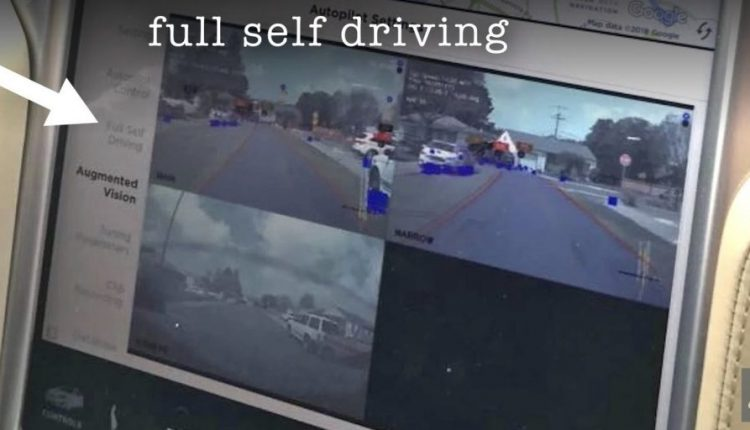 Tesla Full Self-Driving Images Leaked | Artificial intelligence