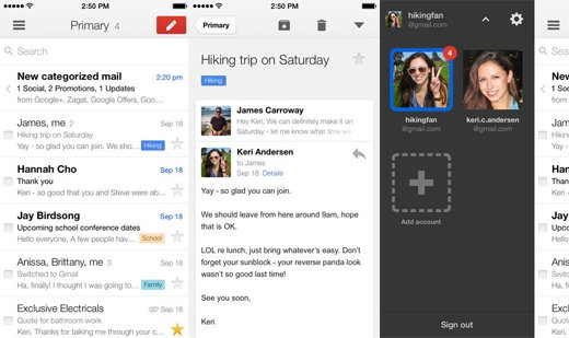 Best free iPhone apps: Gmail