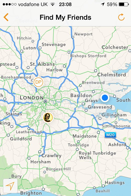 Best free iPhone apps: Find My Friends