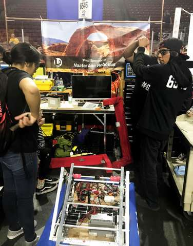 Navajo robotics team heads to international competition
