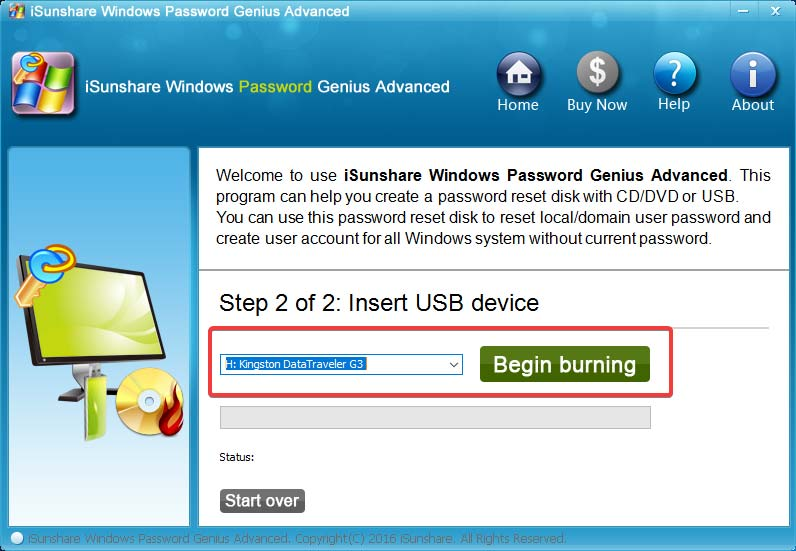 isunshare-password-genius-create-bootable-usb