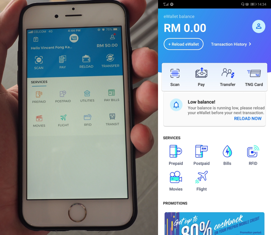 touch n go launch malaysia business hub update app comparison