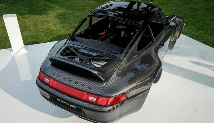Nothing To See Here, Just A Glorious Naked-Carbon Porsche 993 Body By Gunther Werks   Feature