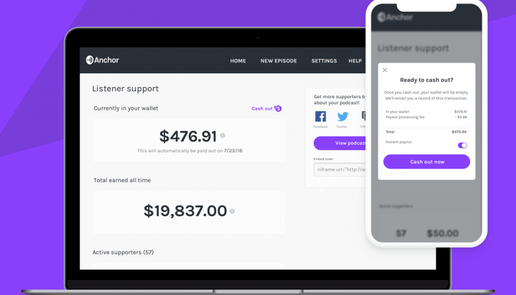 Anchor launches Listener Support feature to help podcasters get paid | Apps News