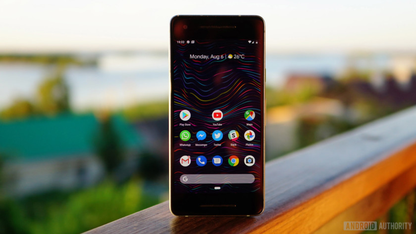 Android 9 Pie review home screen 1