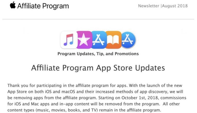 Apple kills app affiliate commissions, imperiling small publishers | Tech Industry
