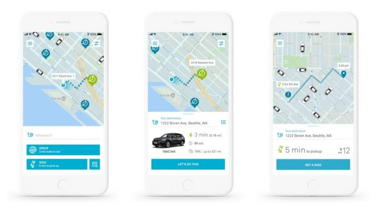 BMW Marries Car & Ride Sharing In Seattle   Innovation & Feature