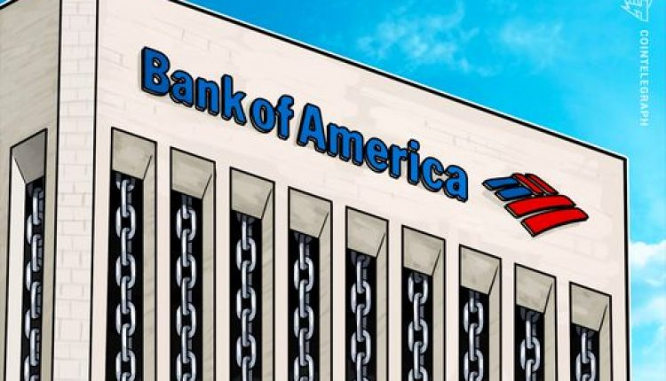 Bank of America Applies for Blockchain-Based Encrypted Crypto Storage System Patent | Crypto