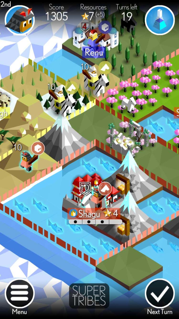 Best free iPhone games: Super Tribes
