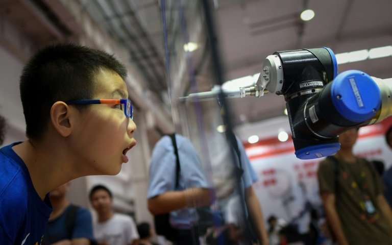 By 2020, China is aiming for half of the industrial robots sold in the country to be made by Chinese companies, up from 27 perce