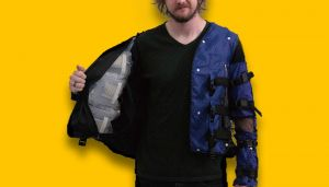 Disney Made A VR Jacket That Can Simulate Hugs, Snakes Crawling On Your Back | Virtual Reality