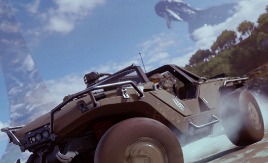 Exclusive: In-game screenshot and details of Halo race in Forza Horizon 4 | Gaming