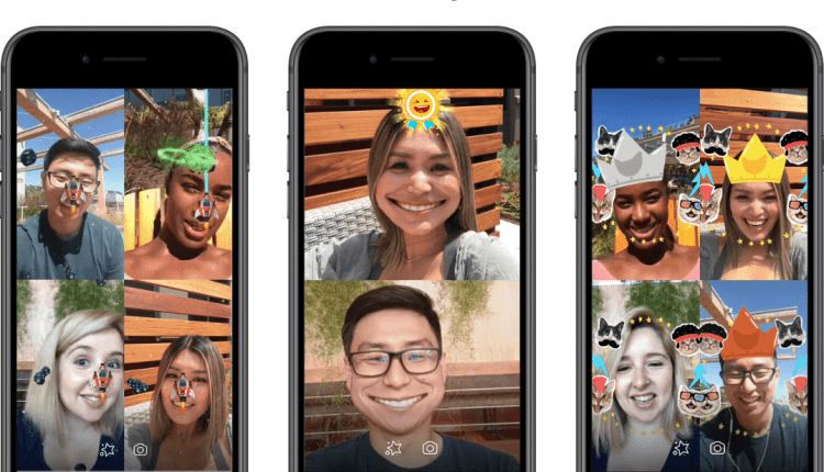 Facebook launches AR games for Messenger group video chat | Social