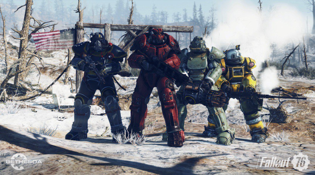 Fallout 76 how many players supported server