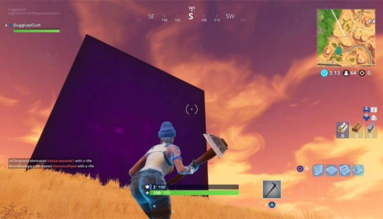 Fortnite: Mysterious Cube Appears in Paradise Palms   Gaming News