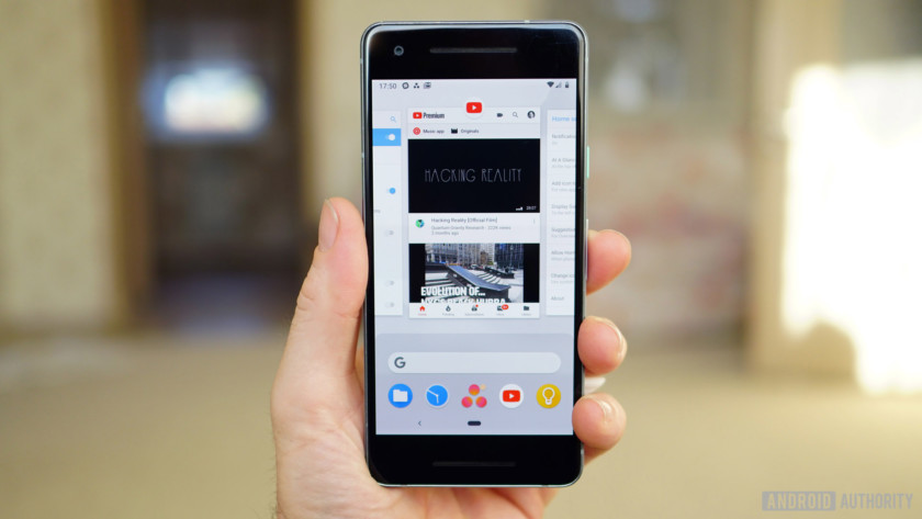 Android 9 Pie review app overview recent apps