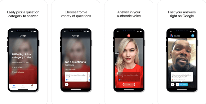 Google launches Cameos, a video Q&A app aimed at celebs | Apps News
