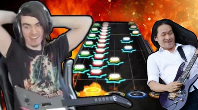Guitar Hero Player Gets Perfect Score on Hardest Song at 150x Speed   Gaming