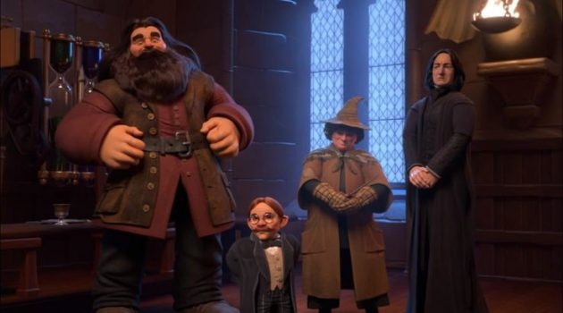 harry potter hogwarts mystery hagrid sprout flitwick snape professors