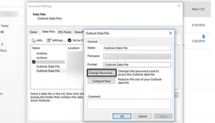 How Protect Outlook Emails With Strong Passwords & Security Settings | How To