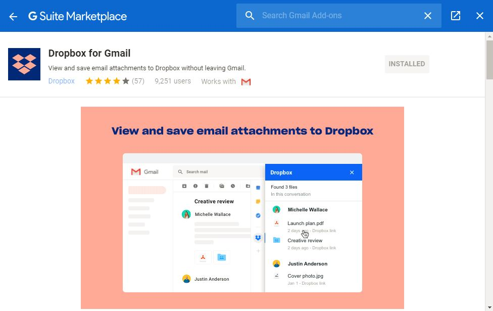 gmail-dropbox-in-store
