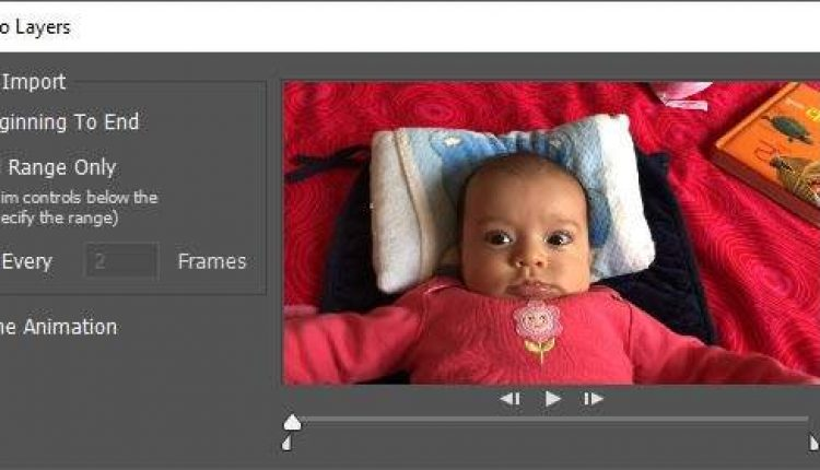 How to Create a GIF from a Video using Photoshop CC | Tips & Tricks