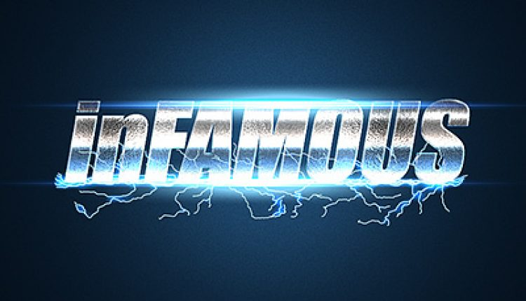 How to Create an inFamous Inspired Text Effect in Adobe Photoshop | How To