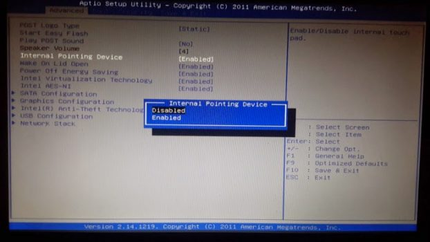 laptop-touchpad-not-working-internal-pointing-device-bios