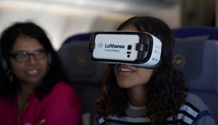 Lufthansa debuts prototype in-flight VR experience | Innovation & Feature