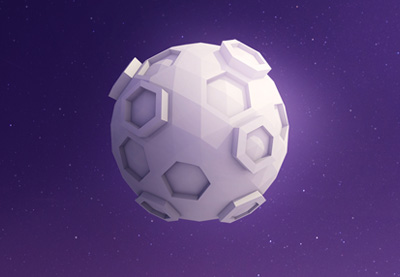 New Course: Create a Low Poly Moon With Cinema 4D | How To