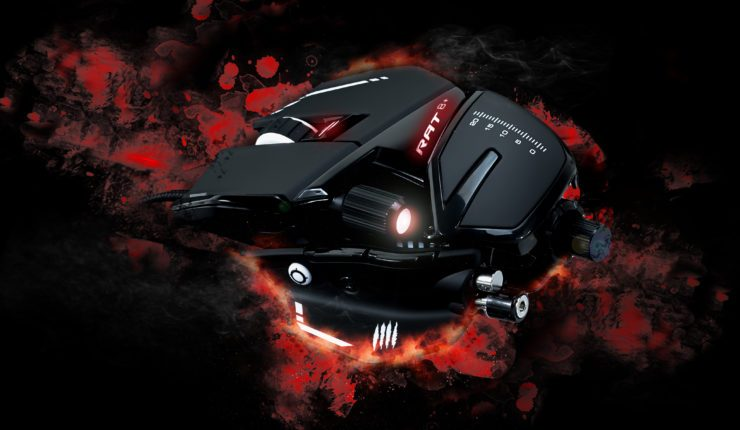 New Mad Catz Peripherals Announced, Including R.A.T. Gaming Mice and E.S. Pro+ Gaming Earbuds   Gaming