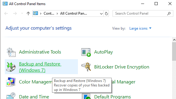 OTT Guide to Backups, System Images and Recovery in Windows 10 | Tips & Tricks