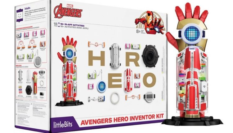Remember the LittleBits R2-D2? This Avengers Hero Inventor Kit means you can go full Tony Stark   Apps News
