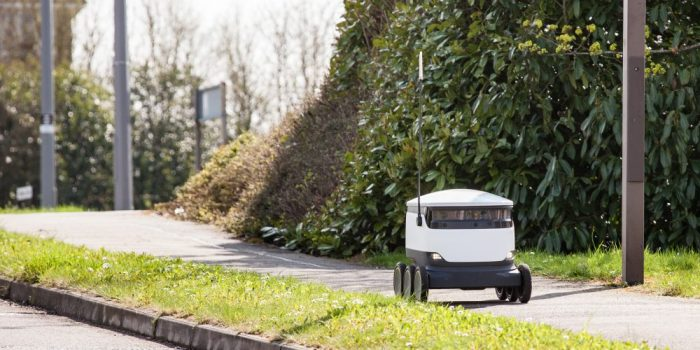 Robot Roundup: Delivery Robots Strive to Drive the Last Mile