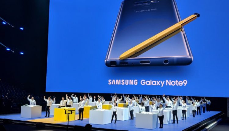 Samsung unveils Galaxy Note 9 with an even bigger screen and battery | Smart