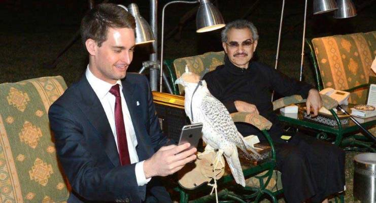 Snapchat gets $250M investment from Saudi prince for 2.3% | Apps News