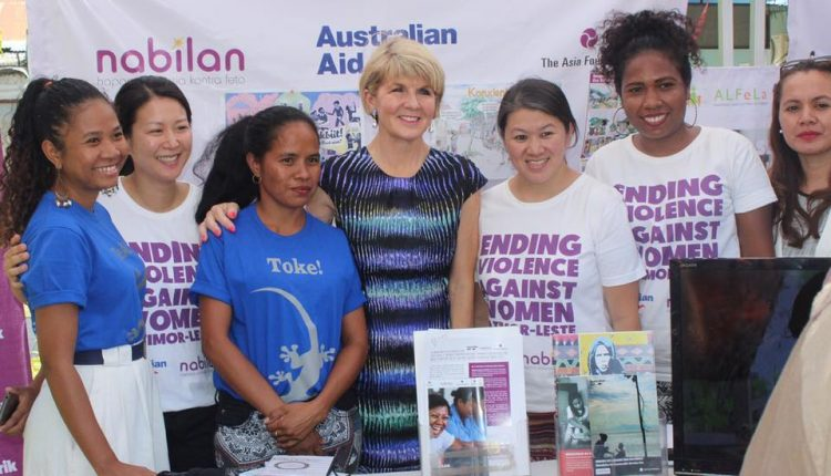 The Asia Foundation in Timor-Leste Hosts Australian Foreign Minister Julie Bishop | Digital Asia