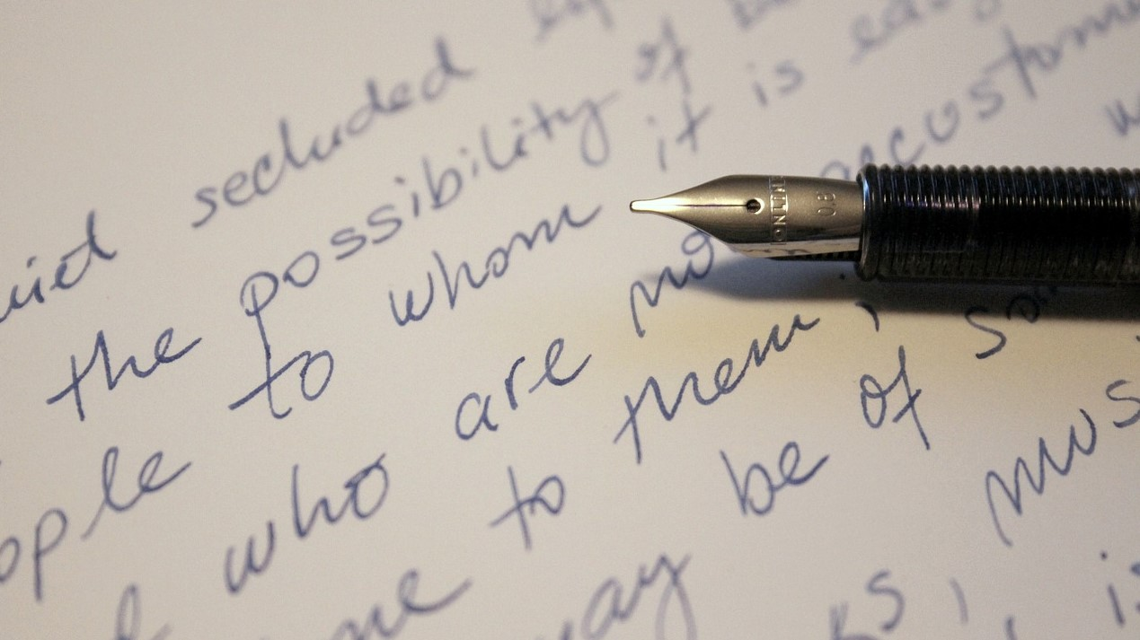 Pen and writing